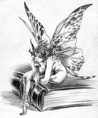 La fée des mots murmure son inspiration au creux de mon oreille